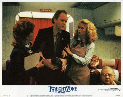 "Twilight Zone: The Movie [1983] Story 4: ""Nightmare at 20,000 Feet"""