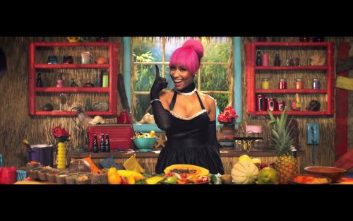 Analyzing nicki minaj s latest bootylicious music video for Kitchen set video song
