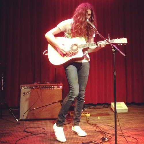 It's @therealkurtvile at #Noncomm 2013 @wxpnfm @matadorrecords