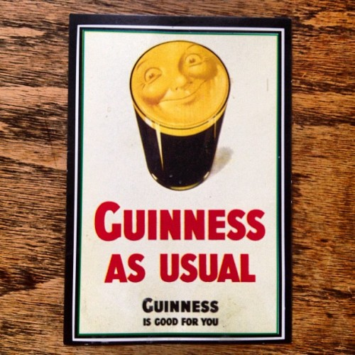 Everyday is a good day for Guinness. #guinness