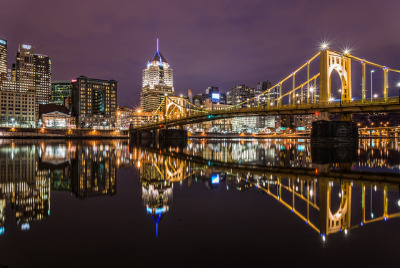 A Beautiful View In Pittsburgh by DelensMode on Flickr.