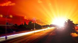 Bildbearbeitung Gewitter zu Morgenstimmung© www.absolutely-D.com