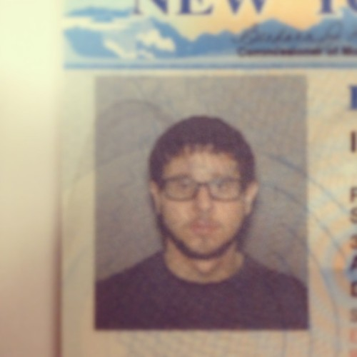 New license photo