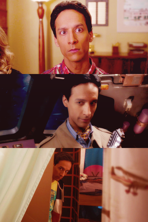 {12 favourite characters of 2012} Abed Nadir, Community   Just so you know, Jeff, you are now creating six different timelines.