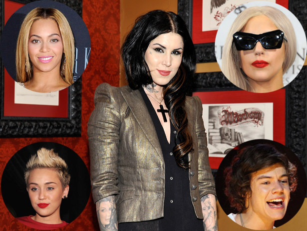 Kat Von D's 15 most famous clients, from Harry Styles to Miley Cyrus!
