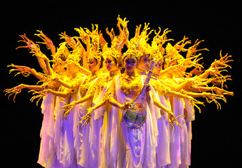 "This week at Lincoln Center for the Performing Arts, The China Gansu Dance Theatre premieres its masterpiece,""Silk Road."""