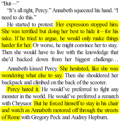 of-course-she-had-a-belly-button:  moments in the heroes of olympus series in which my heart wanted to explode from the amount of love i was feeling.
