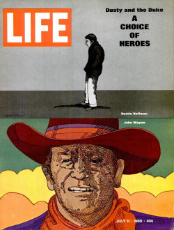 Life magazine, 11 July 1969 Artwork by Milton Glaser via Container List