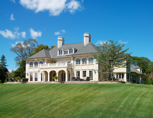 georgianadesign:  French influence in Barrington, RI. Andreozzi Architects.