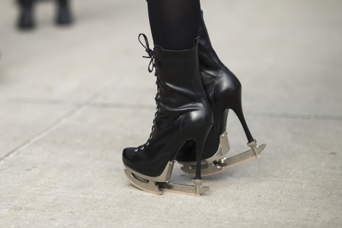 wmagazine:  Photo by Adam Katz Sinding Toepick. See the best of #NYFW street style here.