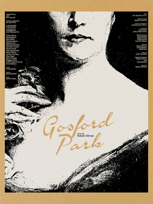 Altman's Gosford Park Poster Part of the Robert Altman Gallery. MM