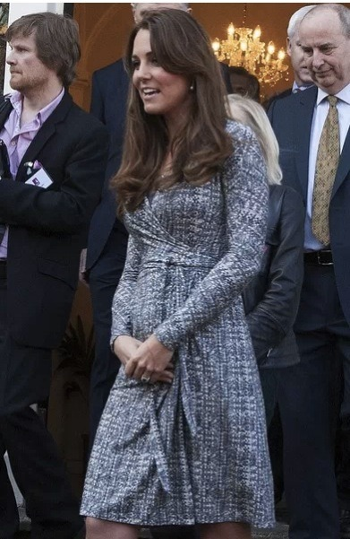 Kate Middleton admits to being nervous about giving birth. Click the pic to read more.