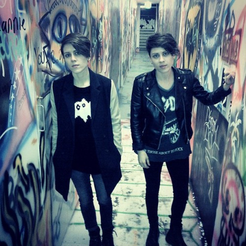 teganandsara:  For those about to rock.