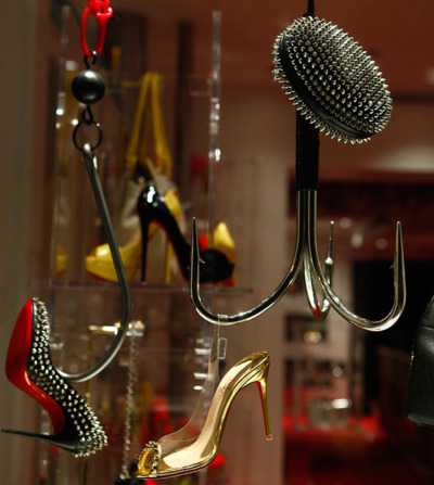 Christian Louboutin Window Display