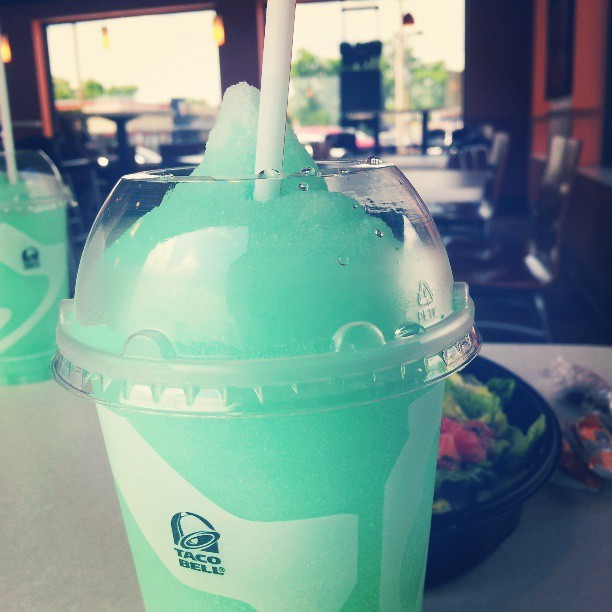 #Bajablast #freeze #tacobell I love it. *___*