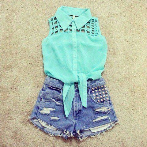 Summer Outfit [2] | via Facebook on @weheartit.com - http://whrt.it/10xgUTj
