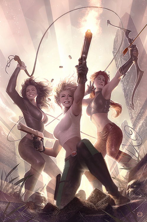 lulubonanza:  Danger Girl: Trinity #1 by *AlexGarner  My links (follow me):DANGER GIRL  / COMICS .