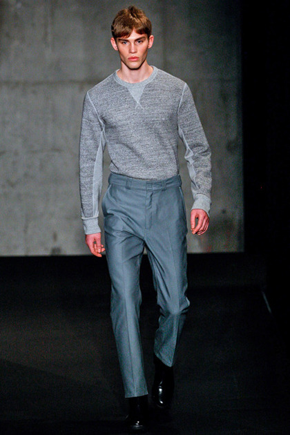 Evan Vincent's runway look for Rag & Bone Menswear F/W 2013.