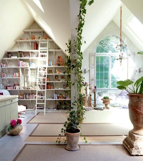 myidealhome:  lovely bright space (via |pinterest)   Love this.