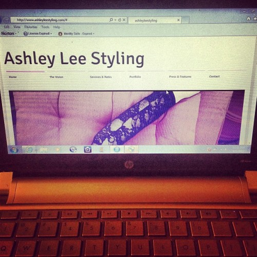 IM A DOT COM!!! My site has OFFICIALLY launched 👏 Go check out www.AshleyLeeStyling.com 💋 #hair #fashion #hairstylist #beauty #website #launch #pink