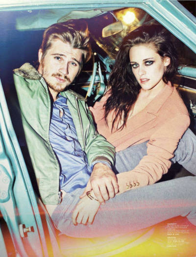 Check out #OnTheRoad's Garrett Hedlund and Kristen Stewart in Jalouse Magazine. Wouldn't YOU want to go on a trip with them?