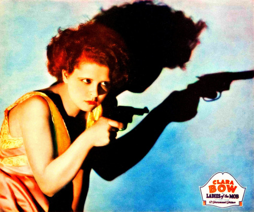 Clara Bow as Yvonne in Ladies of the Mob (1928) (by Greenman 2008)