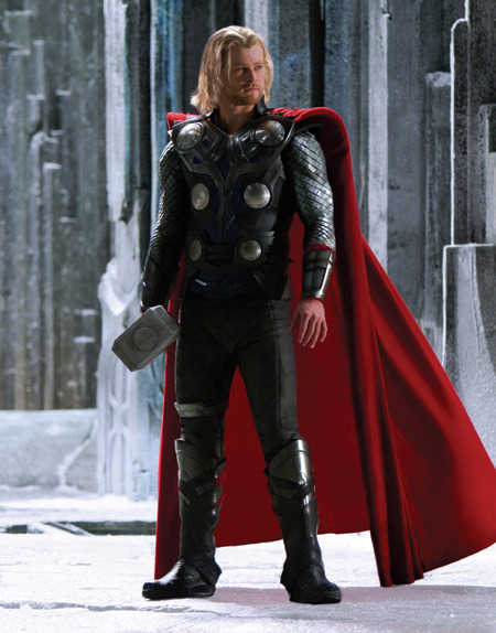 Chris Hemsworth on set of Thor [x]