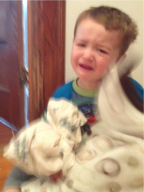 reasonsmysoniscrying:  It's morning.