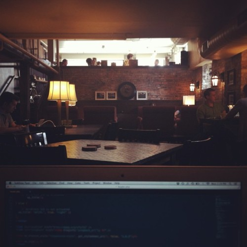 Not a bad place to work from. (at Lantern Coffee Bar and Lounge)