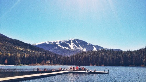 Lost Lake, Whistler.