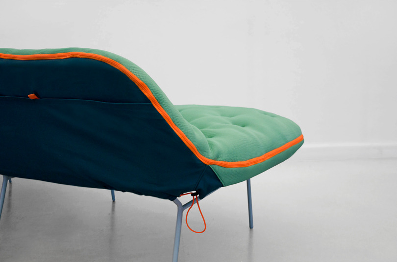 headofcrayons:  Stephanie Hornig, Camp Daybed Prototype, 2012