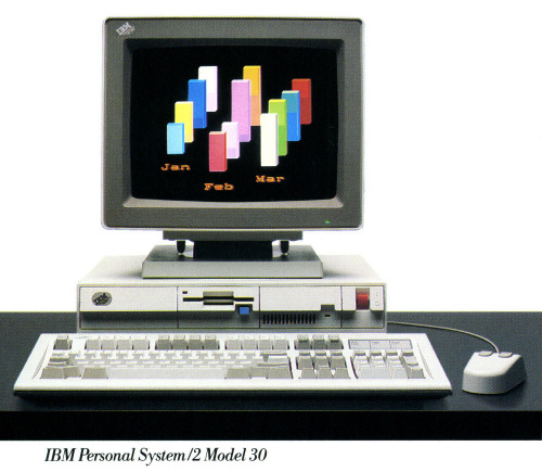 IBM Personal System/2 (PS/2) Model 30 - 1987 PCWorld