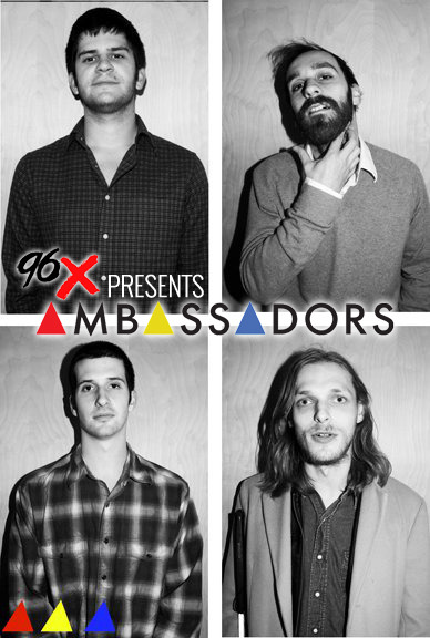 JUST ANNOUNCED 96X presents AMBASSADORS with special guests The Hunts and The Dahus January 26th at The NorVA Tickets on sale THIS Friday, December 21st at all Ticketmaster outlets, http://norvatickets.com, and in person at The Jewish Mother Backstage Norfolk.