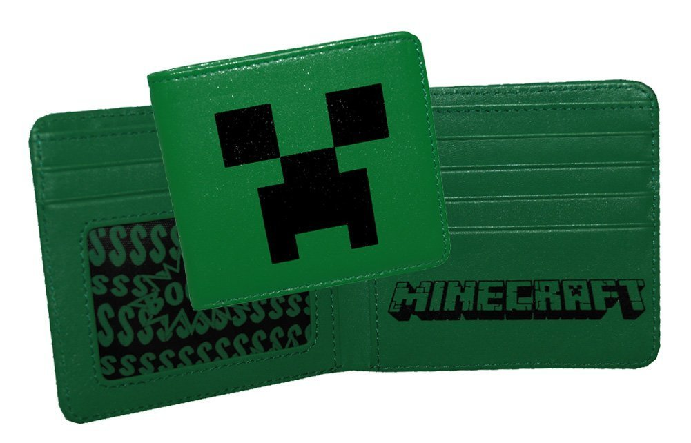 (4x4) Minecraft - Creeper Wallet at $24.95