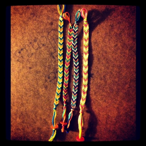 Chevron bracelets will be up for sale on my store soon!  https://summerstyle.storenvy.com/
