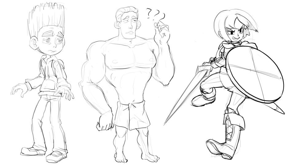 daily draws, forgot what the buff dude looked like lol