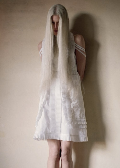 kristen mcmenamy by tim walker for love