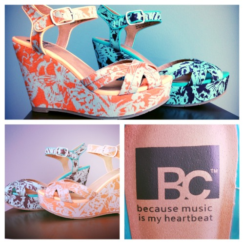 "Pucker Up for ""Kissable"" from BC Footwear"