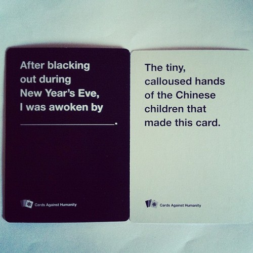 Yay! Got my Cards Against Humanity holiday pack!
