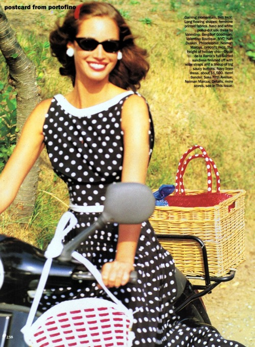 Christy Turlington by Arthur Elgort, 1992