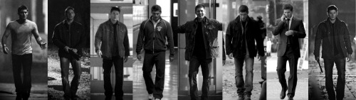 futurecastiels:  luvr4photography:  jensenacklesrocks:  Dean Walking through the Seasons  The Walking Dean  The Walking Dean