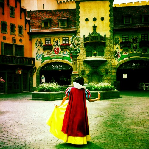 disneyparksphotoproject:   Princess Inspection  photographer: Ben Van Hook  location: EPCOT Germany Pavilion