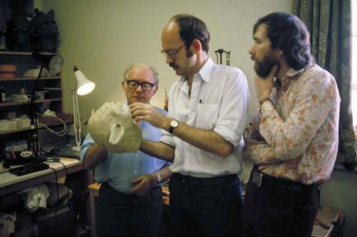 "Behind the scene of ""The Empire Strikes Back"". Frank and Jim take a look at Yoda."