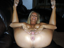 Blond milf spreads her tight cunt.   Visit the best in Amateur Hotties Being Naughty HERE! To post your favorite Amateur Hotties SUBMIT HERE!