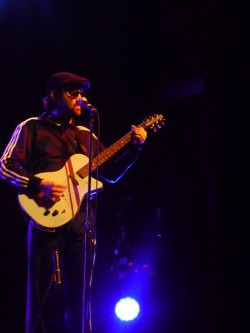 Mark Oliver Everett, from The Eels, playing in Barcelona (Spain).