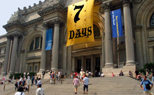 hyperallergic:  The Met Will Open 7 Days a Week Starting July 1  The Metropolitan Museum (illustration by Hyperallergic) The Metropolitan Museum director Thomas P. Campbell announced today that starting this summer on July 1, the museum will stay open every day of the week.  View Post