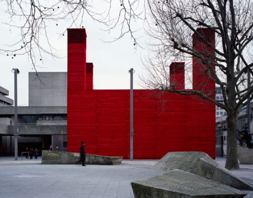 The Shed theatre by Haworth Tompkins, London