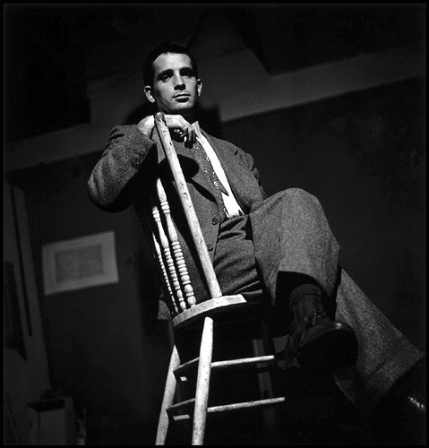 theniftyfifties:  Jack Kerouac photographed by Elliot Erwitt in New York City, 1953.