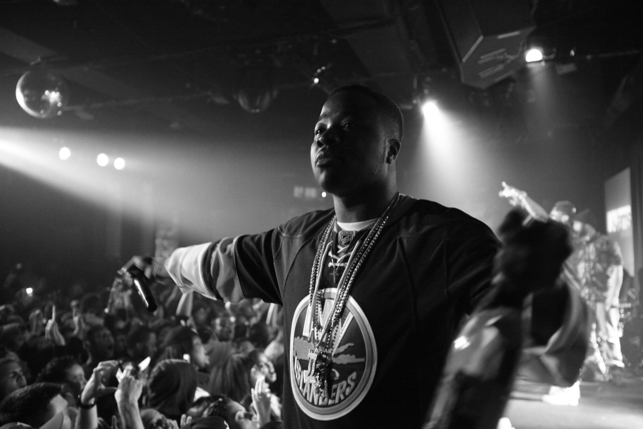 Troy Ave. at BB Kings photographed by Wesmore of Defending Champs