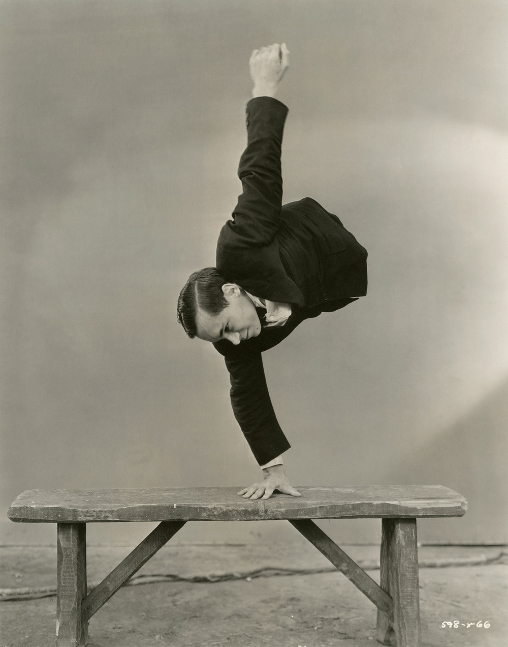 Johnny Eck from Tod Browning's Freaks, 1932 via Art Blart
